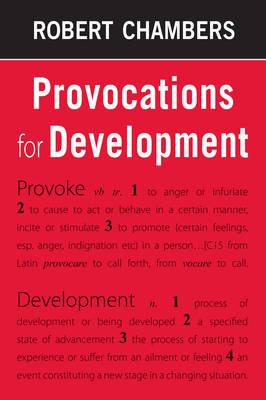 Provocations for Development (Hardback)