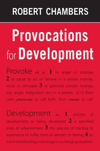 Provocations for Development (Paperback)