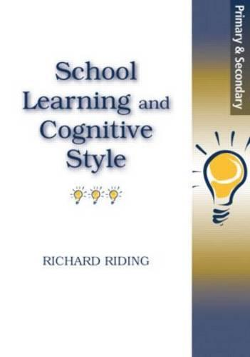 School Learning and Cognitive Styles (Paperback)