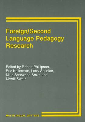 Foreign/Second Language Pedagogy Research - Multilingual Matters (Hardback)