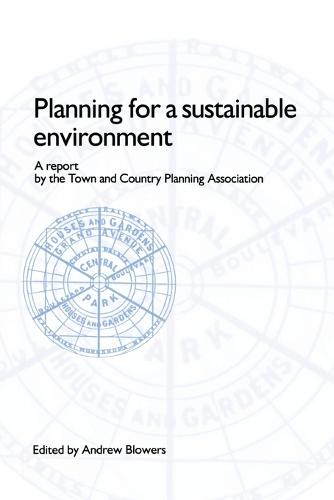 Planning for a Sustainable Environment (Book)