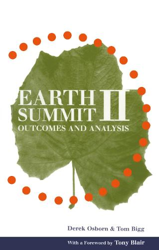 Earth Summit II: Outcomes and analysis (Paperback)
