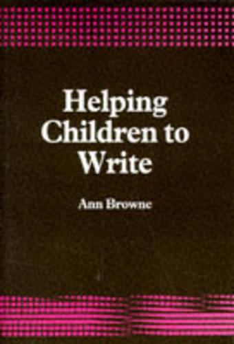 Helping Children to Write (Paperback)