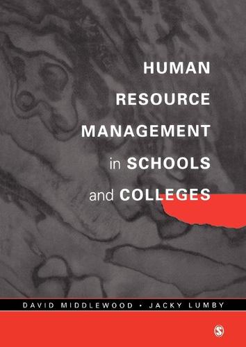Human Resource Management in Schools and Colleges - Centre for Educational Leadership and Management (Paperback)