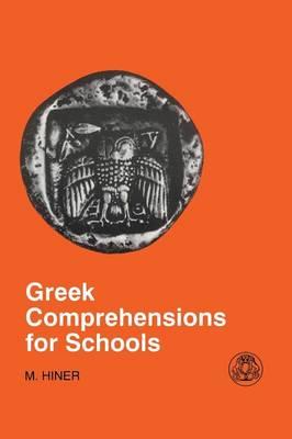 Greek Comprehension for Schools - Greek Language (Paperback)
