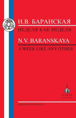Week Like Any Other - Russian Texts (Paperback)
