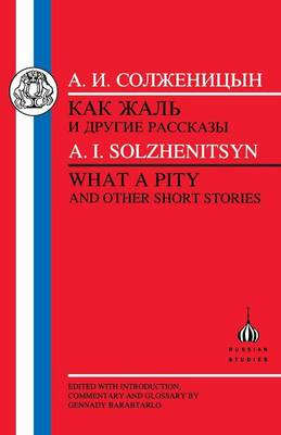 What a Pity - Russian Texts (Paperback)