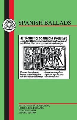 Spanish Ballads - BCP Spanish Texts (Paperback)