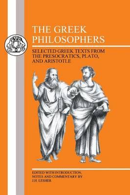 The Greek Philosophers - BCP Greek Texts (Paperback)