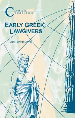 Early Greek Lawgivers (Paperback)