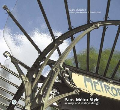 Paris Metro Style: In Map and Station Design (Hardback)
