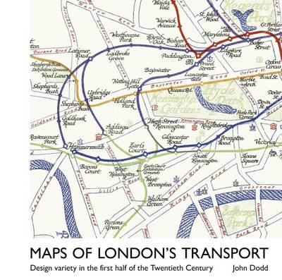 London Public Transport Map.Maps Of London S Transport Design Variety In The First Half Of The Twentieth Century Hardback