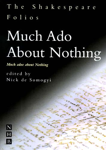 The Shakespeare Folios: Much Ado About Nothing (Paperback)