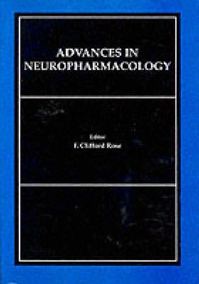 Advances in Neuropharmacology (Hardback)