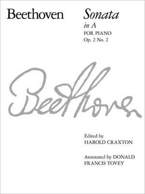 Piano Sonata in A, Op. 2: No. 2 - Signature S. (Paperback)