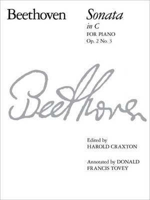 Piano Sonata in C, Op. 2 No. 3 - Signature Series (Abrsm) (Sheet music)