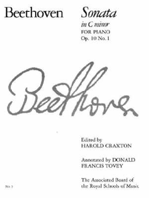 Piano Sonata in C Minor, Op. 10 No. 1: No. 5 - Signature S. (Paperback)