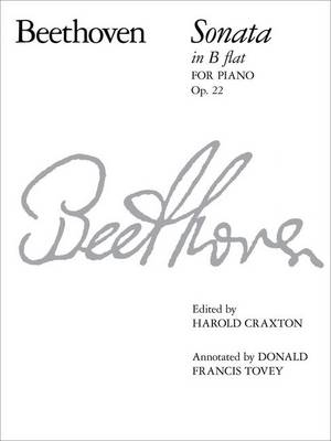 Piano Sonata in B flat, Op. 22 - Signature Series (ABRSM) (Sheet music)