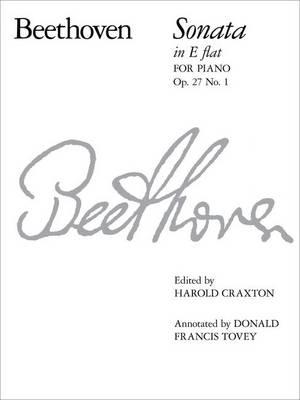 Piano Sonata in E flat, Op. 27 No. 1 - Signature Series (ABRSM) (Sheet music)