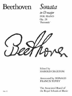 Piano Sonata in D, Op. 28: Pastorale: No. 15 - Signature S. (Sheet music)