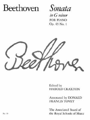 Piano Sonata in G Minor, Op. 49 No. 1: No. 19 - Signature S. (Paperback)