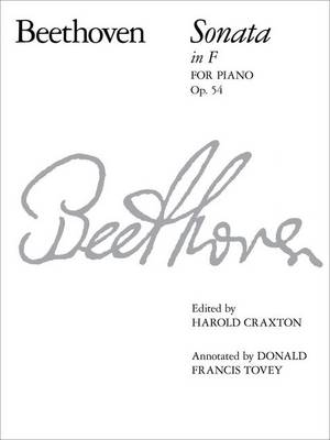 Piano Sonata in F, Op. 54 - Signature Series (ABRSM) (Sheet music)