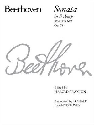Piano Sonata in F Sharp, Op. 78: No. 24 - Signature Series (Abrsm) (Sheet music)
