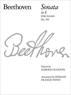 Piano Sonata in E, Op. 109 - Signature Series (ABRSM) (Sheet music)