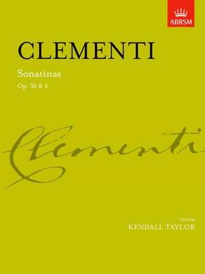 Sonatinas, complete Op. 36 & Op. 4 - Signature Series (ABRSM) (Sheet music)