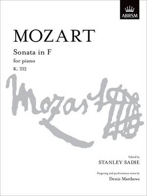 Sonata in F K. 332 - Signature Series (ABRSM) (Sheet music)