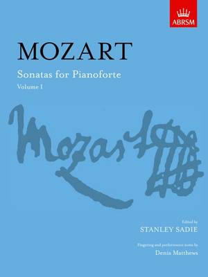 Sonatas for Pianoforte, Volume I - Signature Series (ABRSM) (Sheet music)