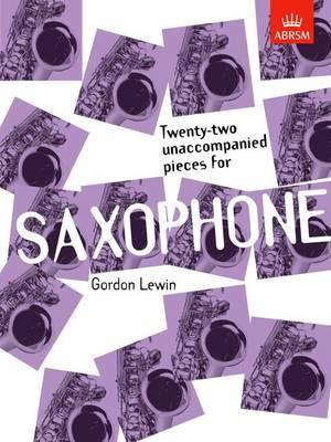 Twenty-two Unaccompanied Pieces for Saxophone (Sheet music)