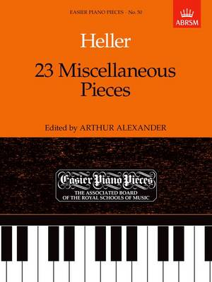 23 Miscellaneous Pieces: Easier Piano Pieces 50 - Easier Piano Pieces (ABRSM) (Sheet music)