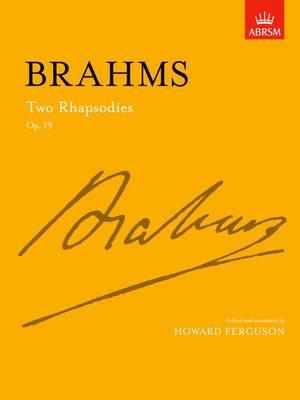 Two Rhapsodies Op. 79 - Signature Series (ABRSM) (Sheet music)