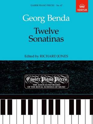 Twelve Sonatinas: Easier Piano Pieces 47 - Easier Piano Pieces (ABRSM) (Sheet music)