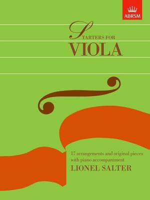Starters for Viola (Sheet music)