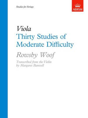 Thirty Studies of Moderate Difficulty (Sheet music)