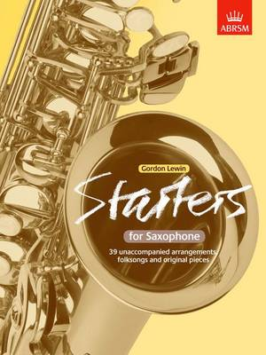 Starters for Saxophone (Sheet music)