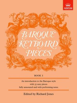 Baroque Keyboard Pieces, Book I (easy) - Baroque Keyboard Pieces (ABRSM) (Sheet music)