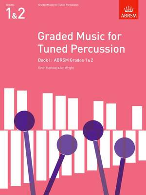 Graded Music for Tuned Percussion, Book I: (Grades 1-2) - ABRSM Exam Pieces (Sheet music)