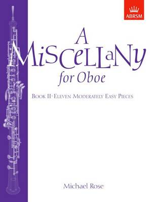 A Miscellany for Oboe, Book II: Eleven moderately easy pieces (Sheet music)