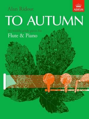 To Autumn (Sheet music)