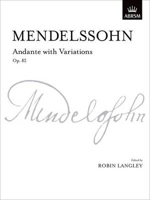 Andante with Variations, Op. 82 - Signature Series (ABRSM) (Sheet music)