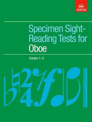 Specimen Sight-Reading Tests for Oboe, Grades 1-5 - ABRSM Sight-reading (Sheet music)