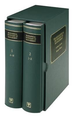 Biographical Dictionary of Management (Hardback)