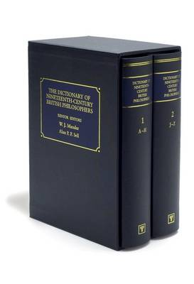 The Dictionary of Nineteenth-century British Philosophers (Hardback)