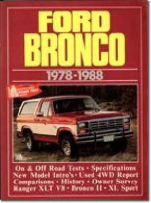Ford Bronco, 1978-88 - Brooklands Books Road Tests Series (Paperback)
