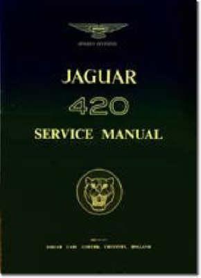 Jaguar 420 Service Manual (Paperback)