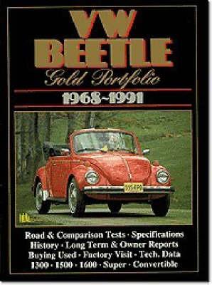 VW Beetle Gold Portfolio, 1968-91 (Paperback)