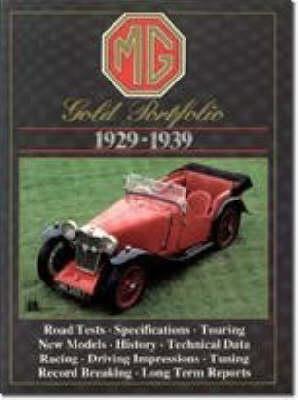 MG Gold Portfolio 1929-39 (Paperback)